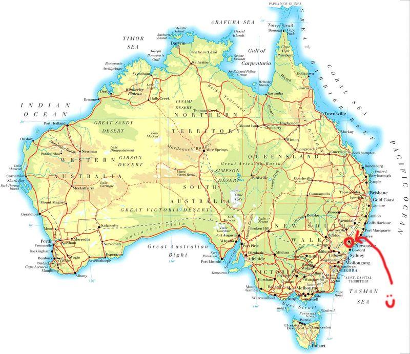 Map-Australia